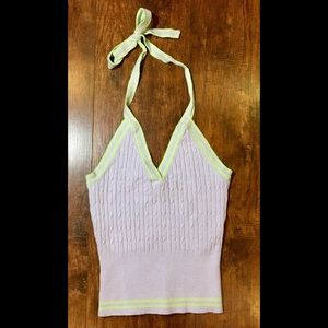 It's Our Time / Vintage Halter Top